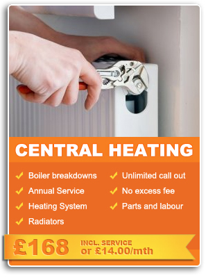 Central heating Cover in Liverpool